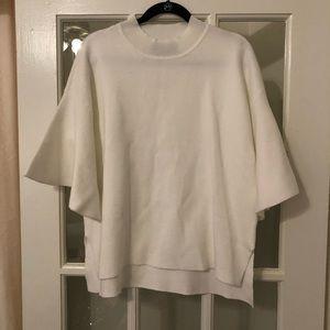 Anthropologie White Sweater